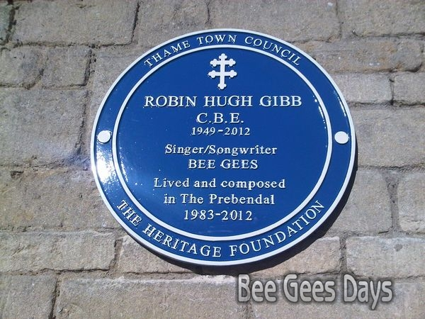 Blue Plaque installed at the Prebendal