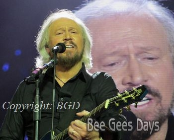 Barry Gibb (at London O2 Arena, October 3, 2013)
