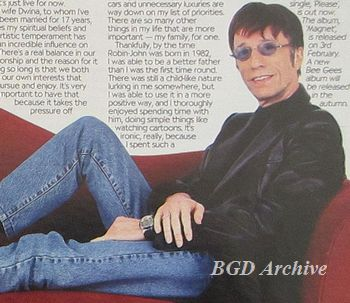 Robin Gibb: On the Couch (2002)