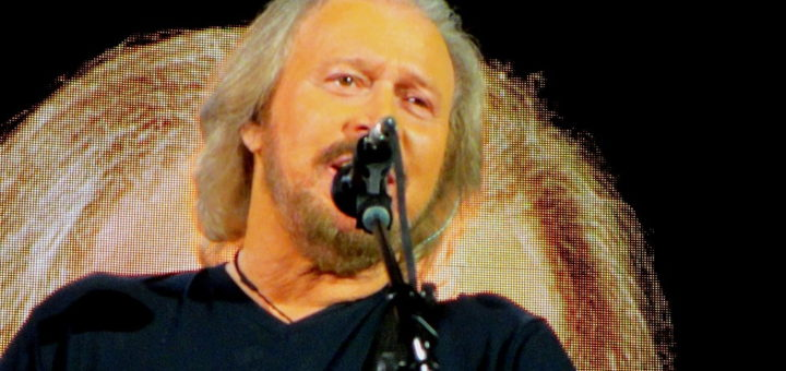 Barry Gibb during Mythology Tour 2014