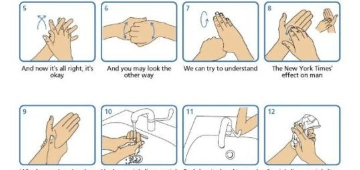 Wash your hands to Stayin' Alive
