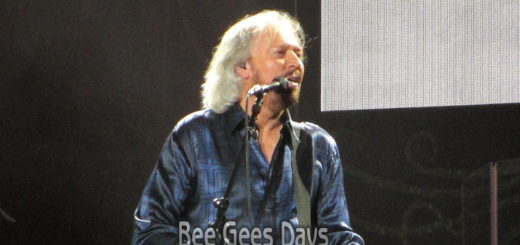 Barry Gibb in Brisbane, Australia (February 2013)